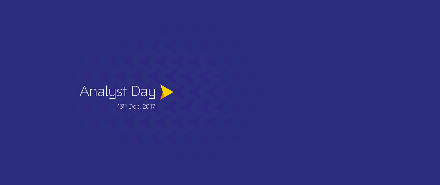 Analyst Day 13th Dec 2017