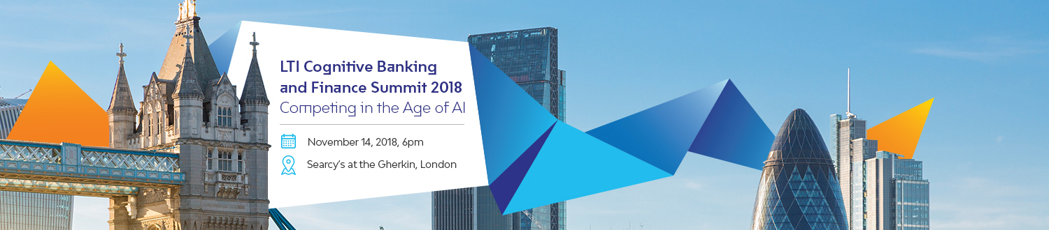LTI Congnitive Banking and Finance Summit 2018