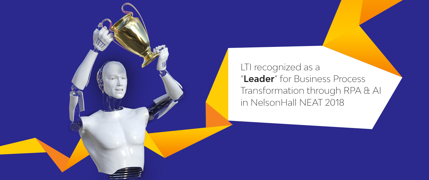 Digitize the core of your business with LTI's Intelligent RPA