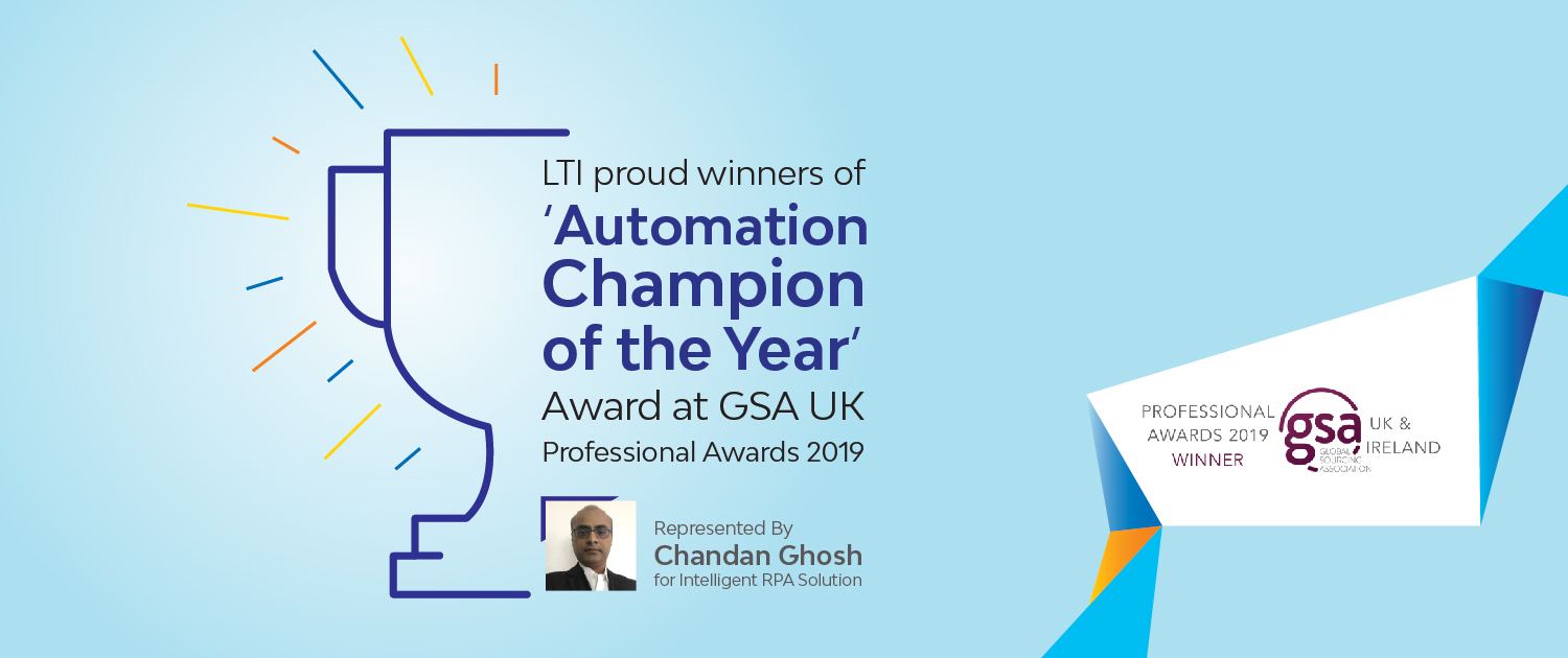 LTI Proud Winners of the Automation Champion of the Year