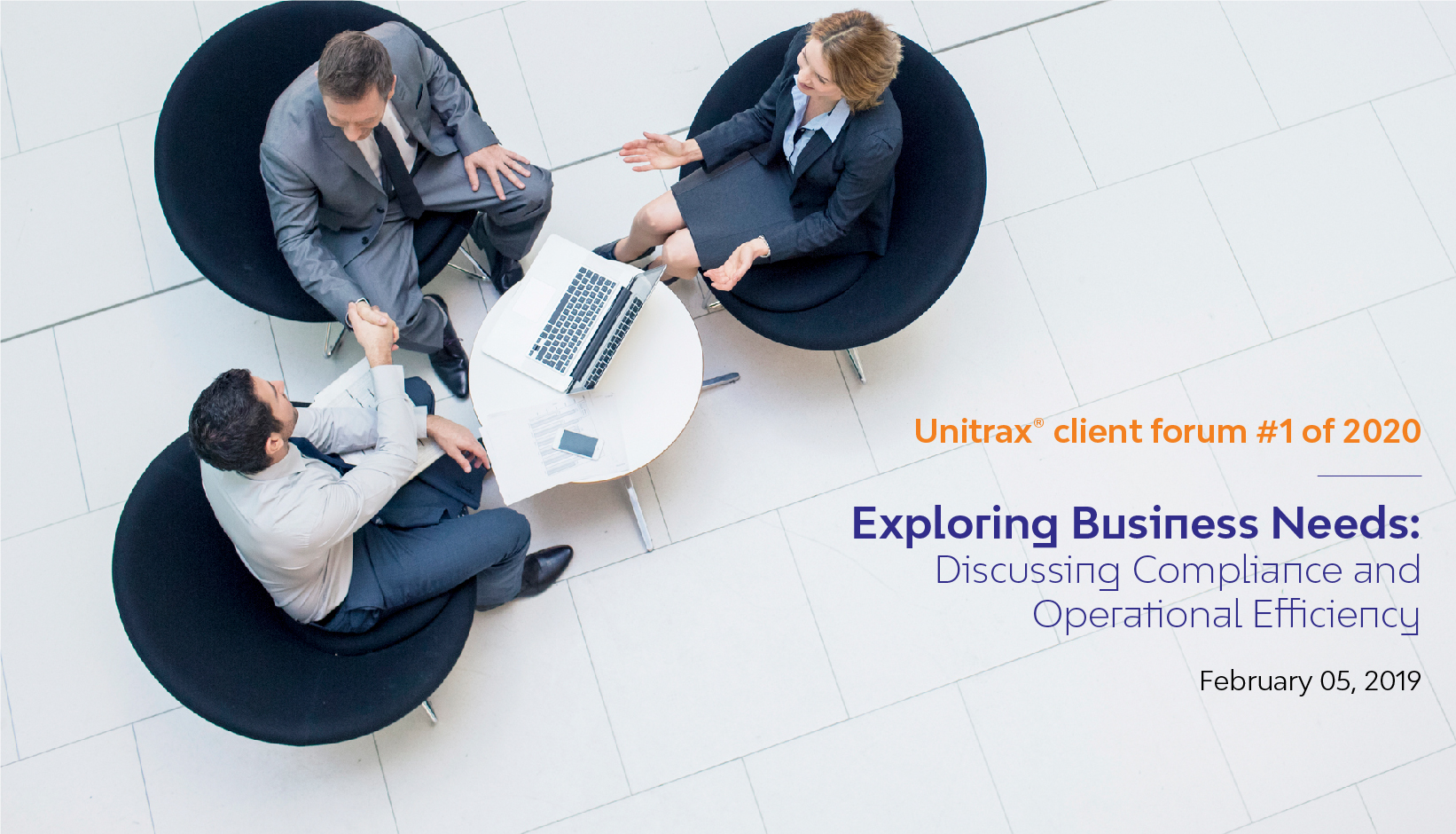 Unitrax® Client Forum #1 of 2020