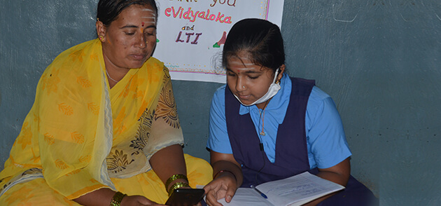 LTItes are dedicating their time to teach children in rural India under our 'Learn from Home' model as school sessions are delayed due to COVID-19.