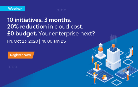 10 Initiatives to Reduce Cloud Spend in 3 Months