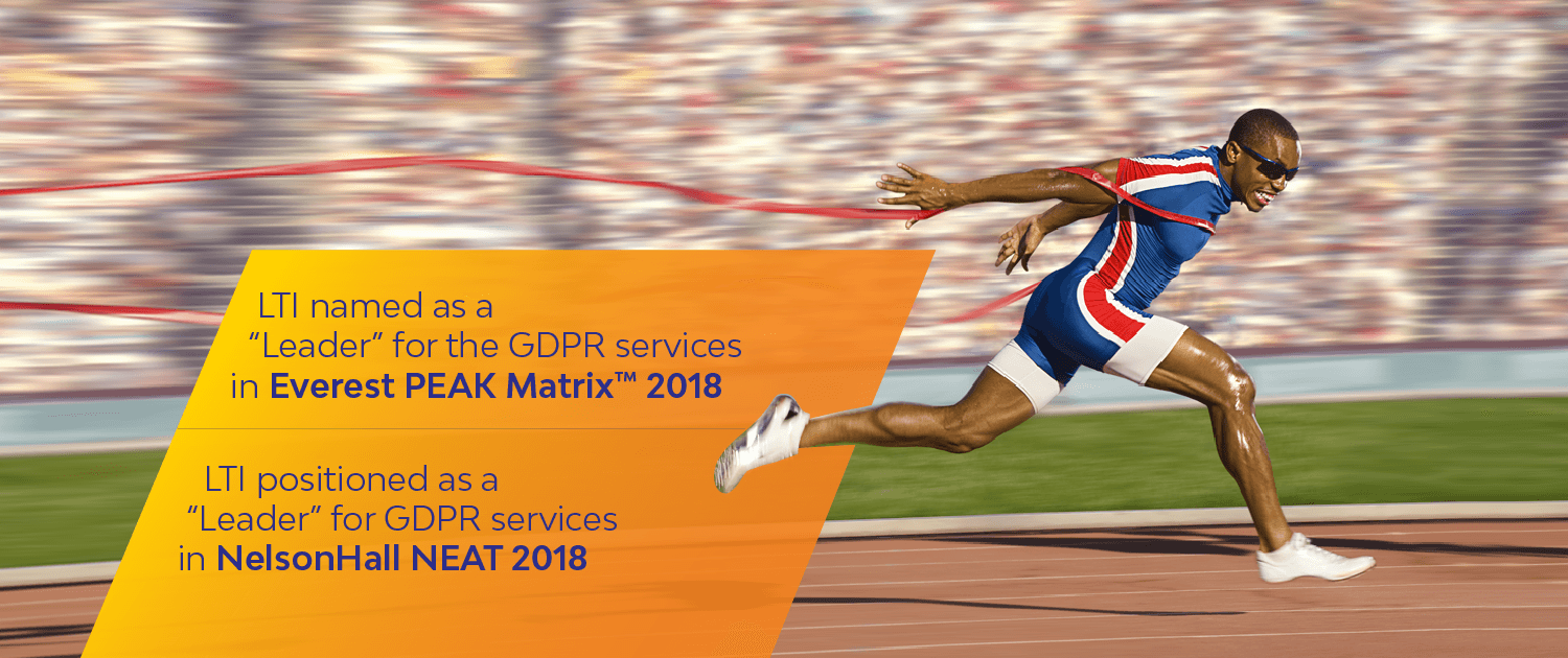 LTI named as a 'Leader' for the GDPR services in Everest PEAK Matrix™ 2018