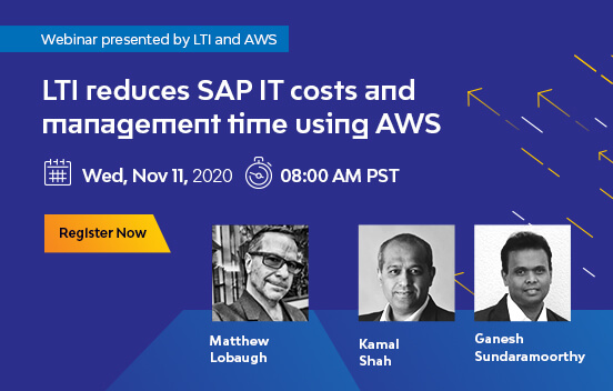 LTI Reduces SAP IT Costs and Management Time Using AWS
