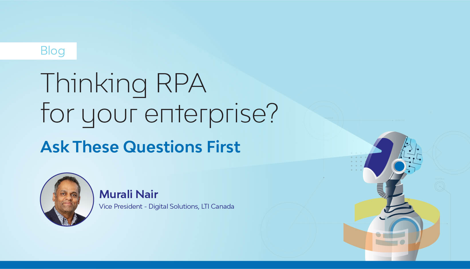 Thinking RPA for your enterprise