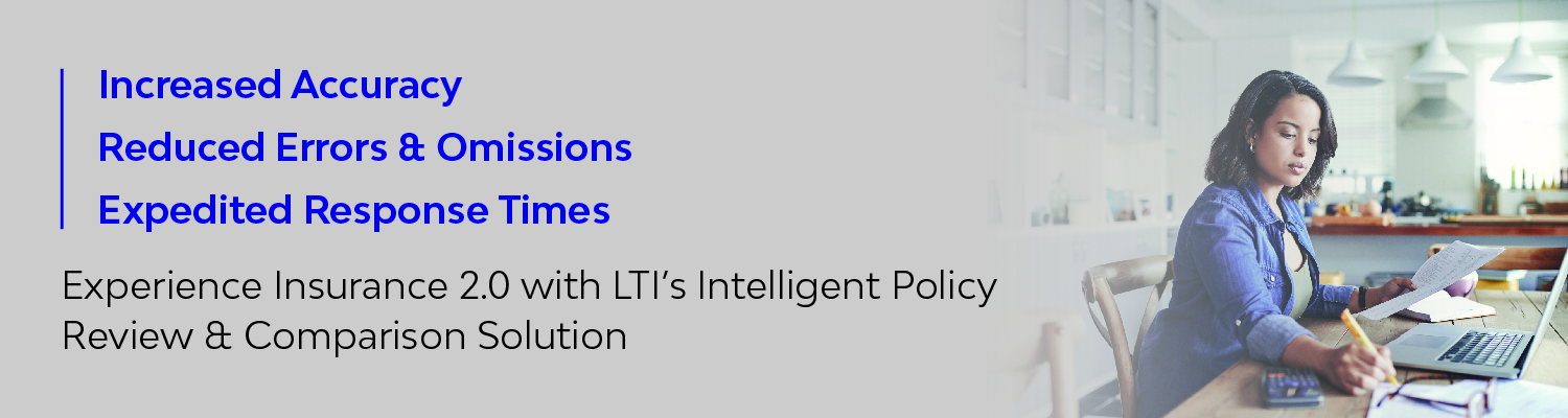 LTI's Intelligent Policy Review & Comparison Solution