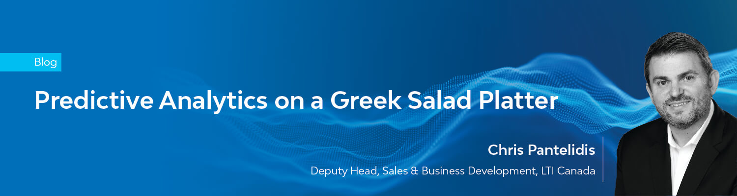 One Greek Salad with Predictive Analytics