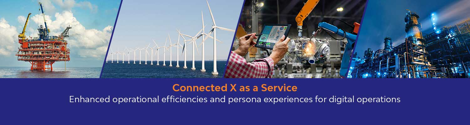 Connected X as a Service offering