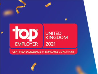 LTI recognized as a Top Employer 2021 in the UK