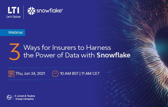 3 Ways for Insurers to Harness the Power of Data with Snowflake