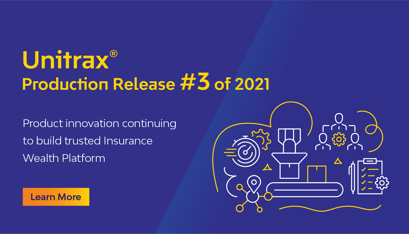 Unitrax® with 3rd production release of 2021