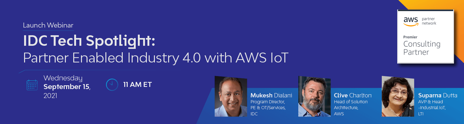IDC Tech Spotlight: Partner Enabled Industry 4.0 with AWS IoT