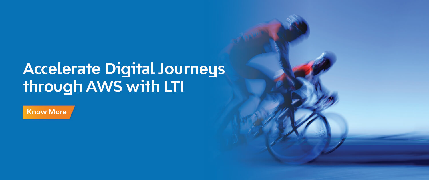 Accelerate Digital Journeys through AWS with LTI